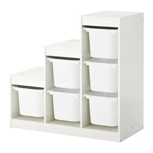 cheap plastic outdoor chairs office chair video trofast storage combination with boxes white 99 x 44 94 cm - ikea