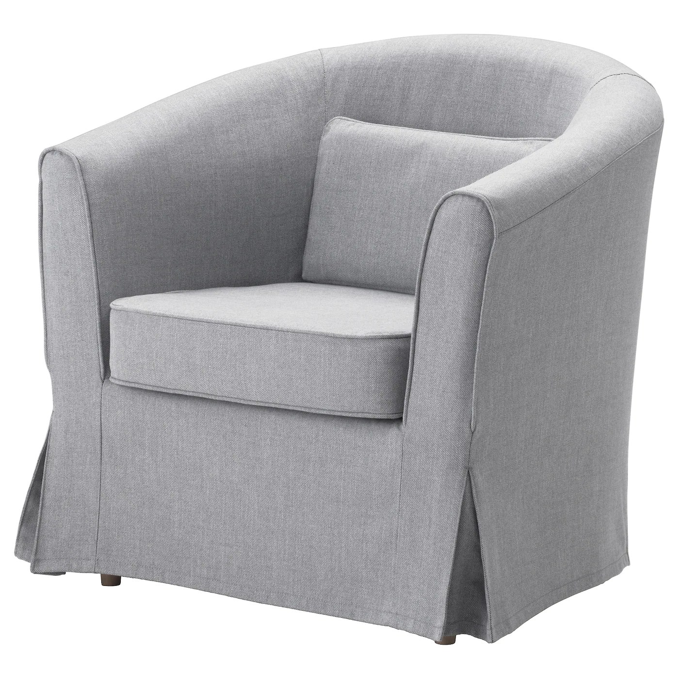 tub chair covers ireland sleeper chairs amazon fabric armchairs ikea tullsta armchair slim lines easy to place