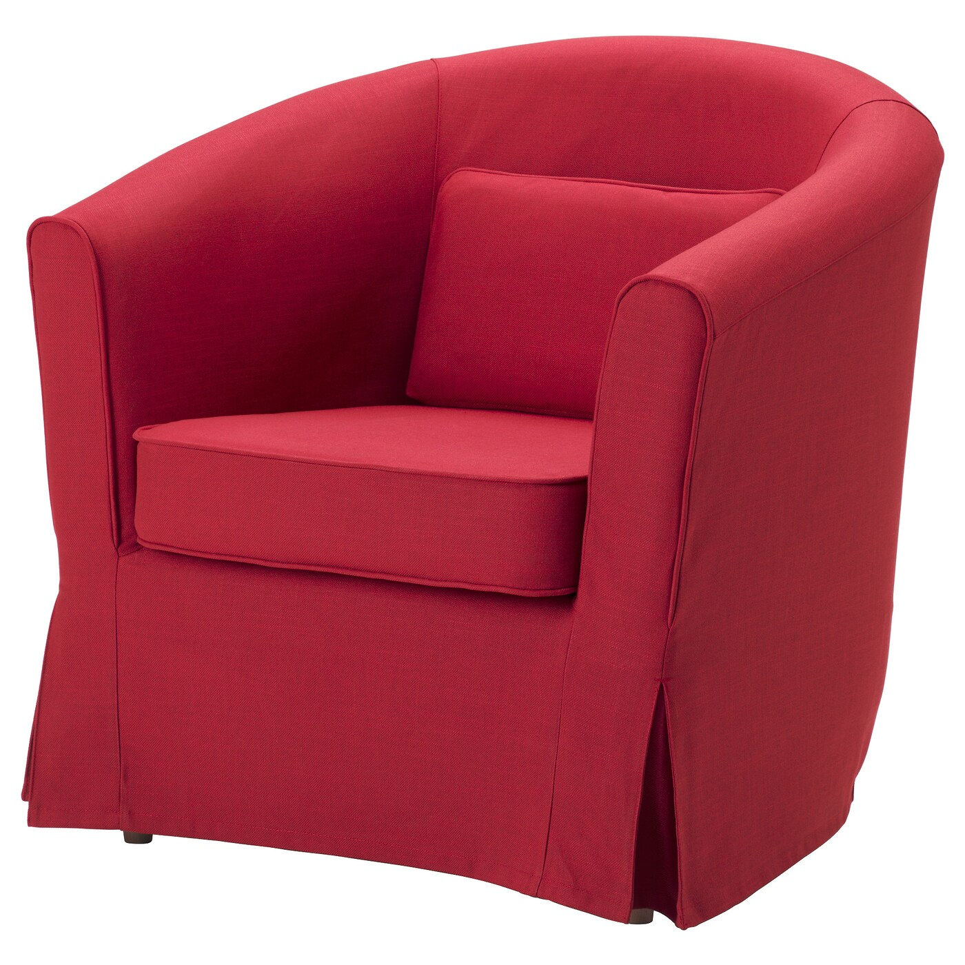 ikea arm chairs lifting elderly tullsta armchair nordvalla red