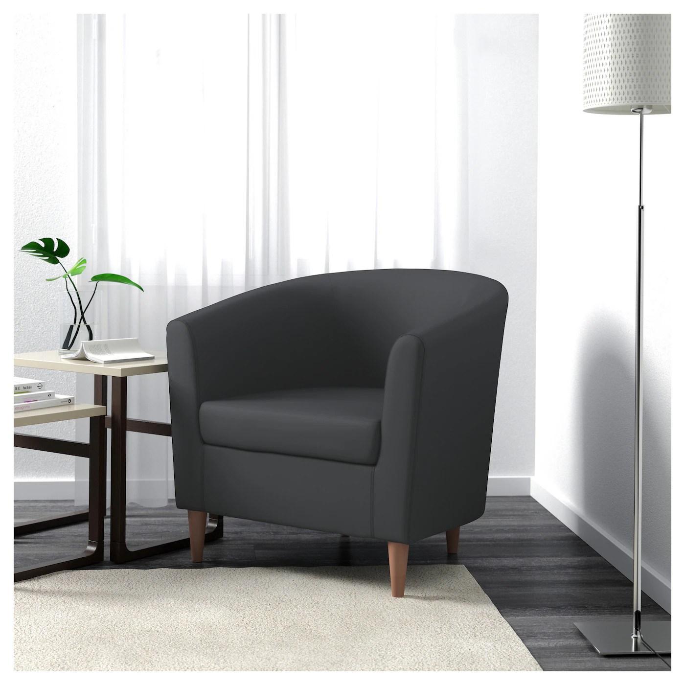 armchair meaning hanging chair parts tullsta ransta dark grey ikea