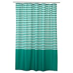 Shower Curtain Vadsjon Dark Green