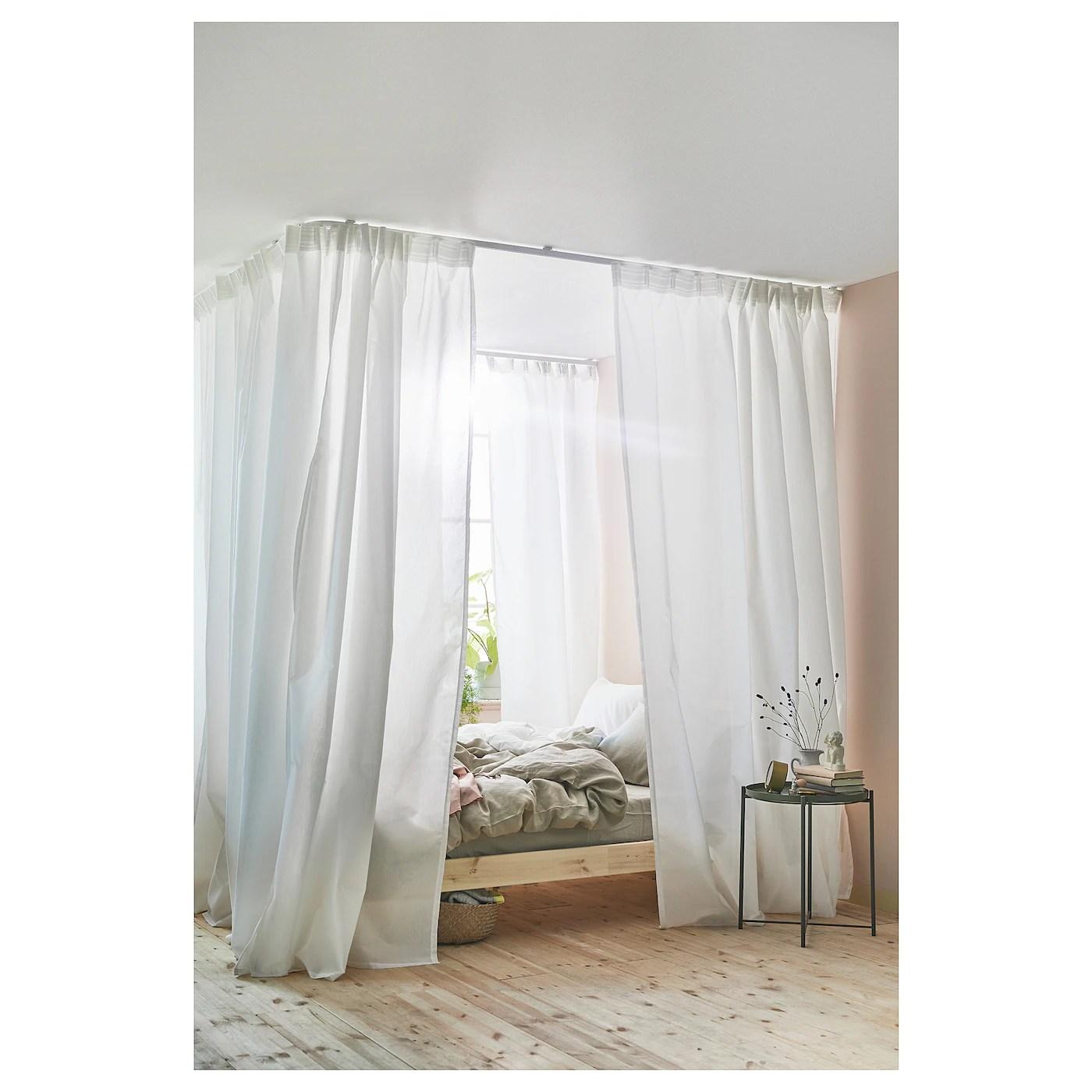 vidga room divider for corner white