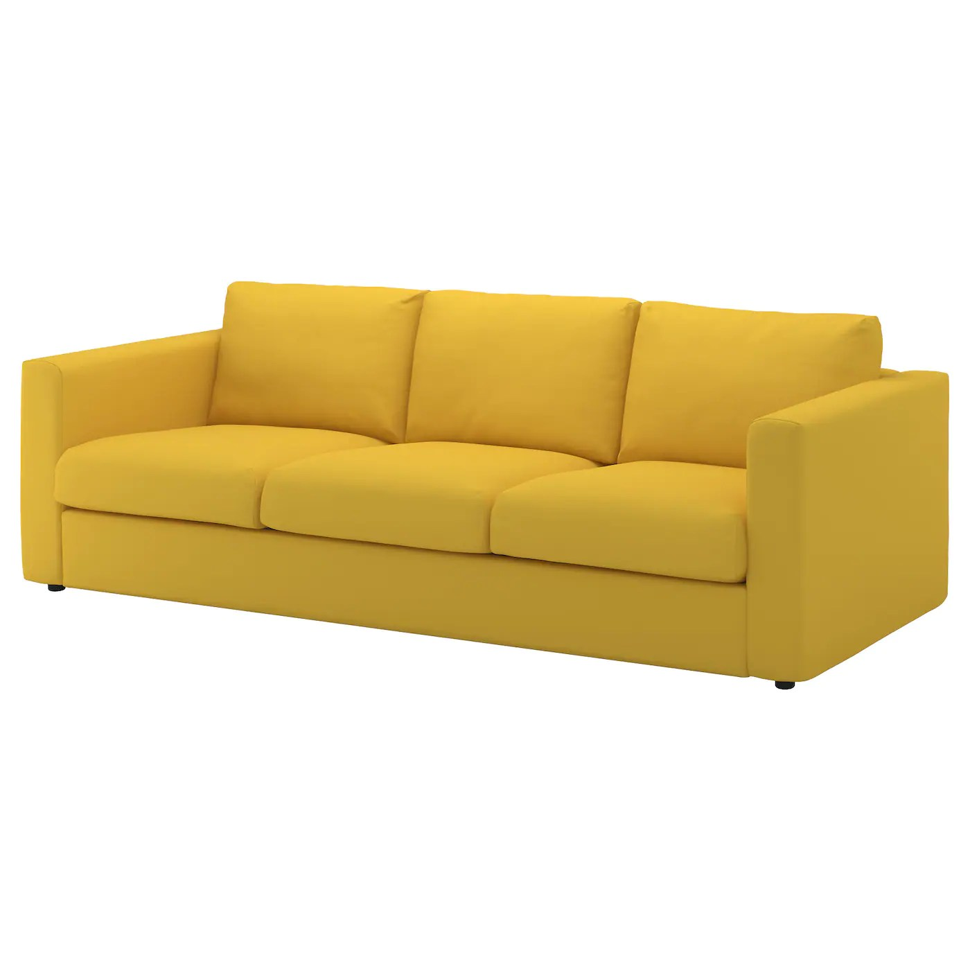 yellow sofa bed ikea navy blue sectional vimle 3 seat with chaise longue