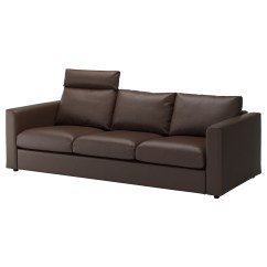 How To Clean A Cream Leather Sofa Matara Rattan Effect 7 Seater Corner Garden Set Coated Fabric Sofas Ikea Vimle 3 Seat The Cover Is Easy Keep As It Can