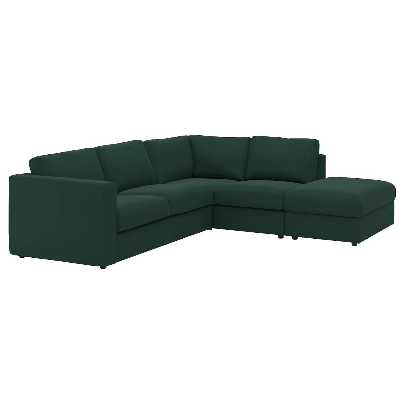 green leather corner sofa bed delaney sleeper modern in fareham