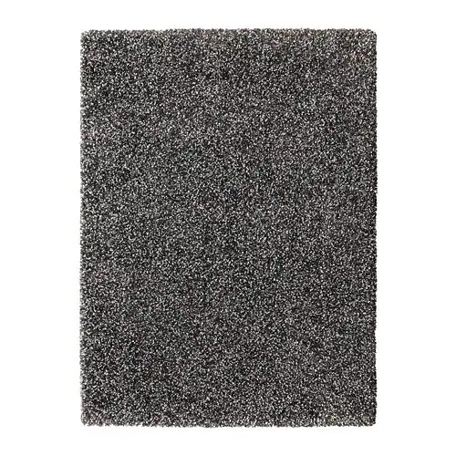 children s living room chairs bean bag at walmart vindum rug, high pile dark grey 133 x 180 cm - ikea