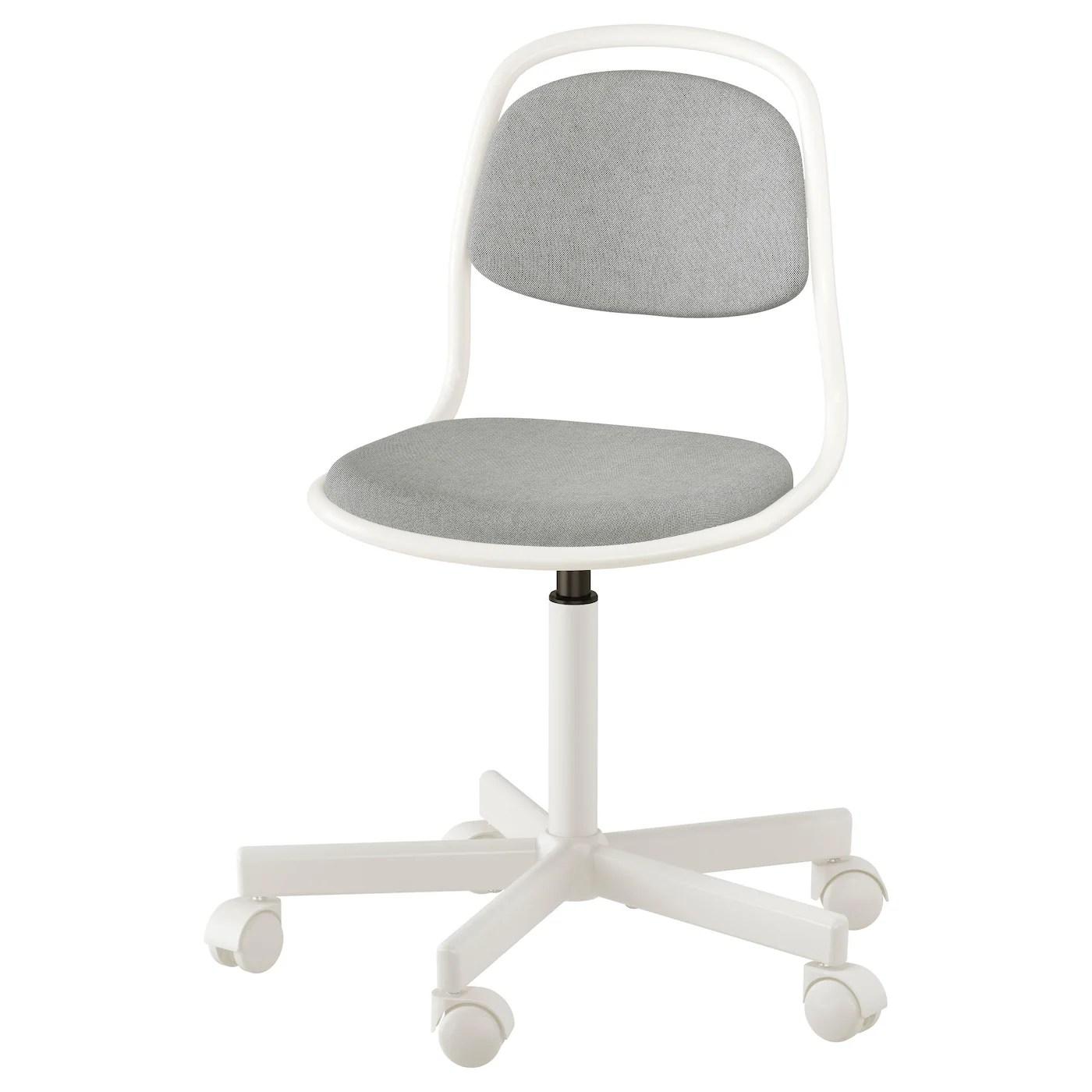 desk chair ikea harry covers uk ÖrfjÄll children 39s white vissle light grey