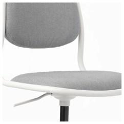 White Desk Chair Ikea Sofa Loveseat Set ÖrfjÄll Children 39s Vissle Light Grey