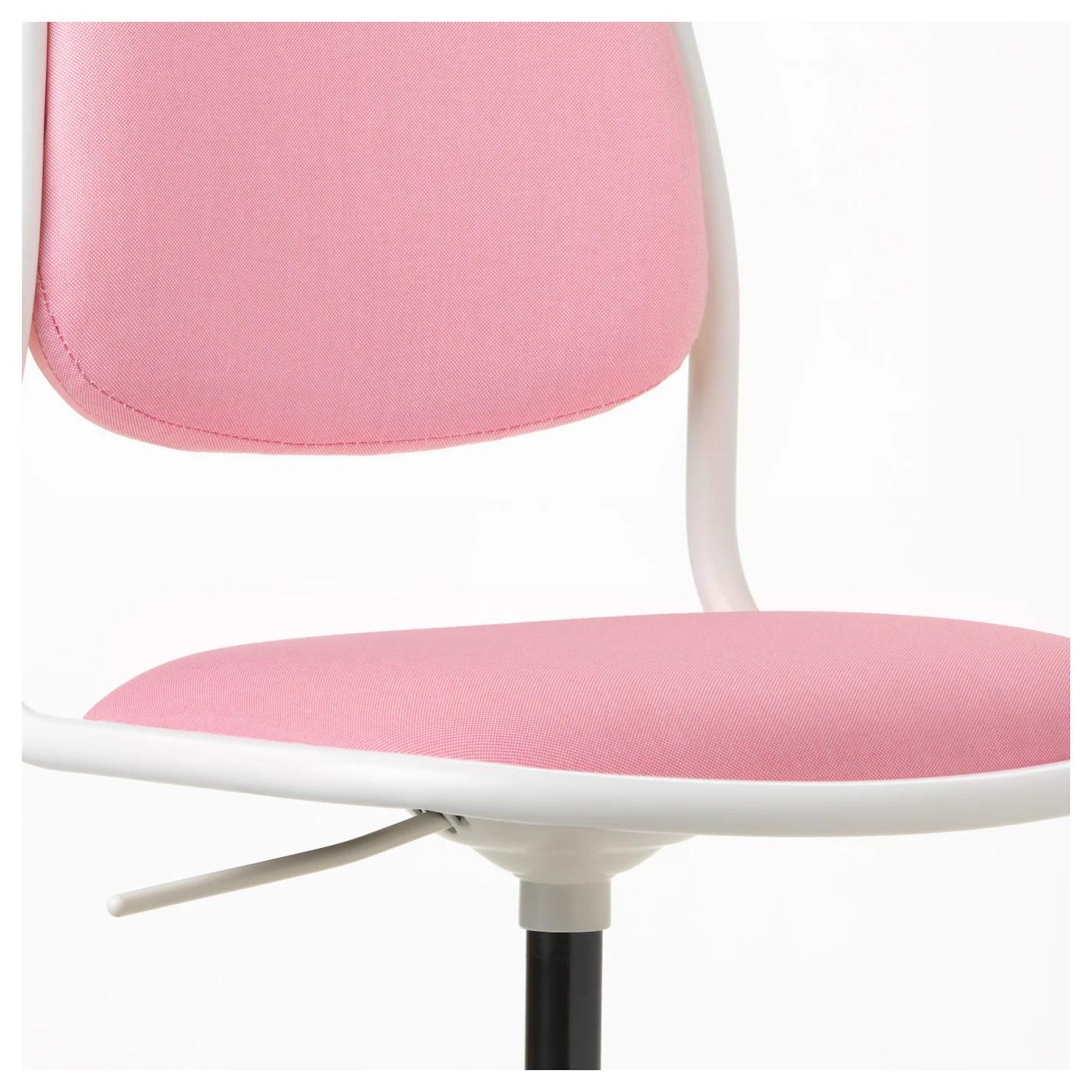 ikea pink desk chair office recliner ÖrfjÄll children 39s white vissle