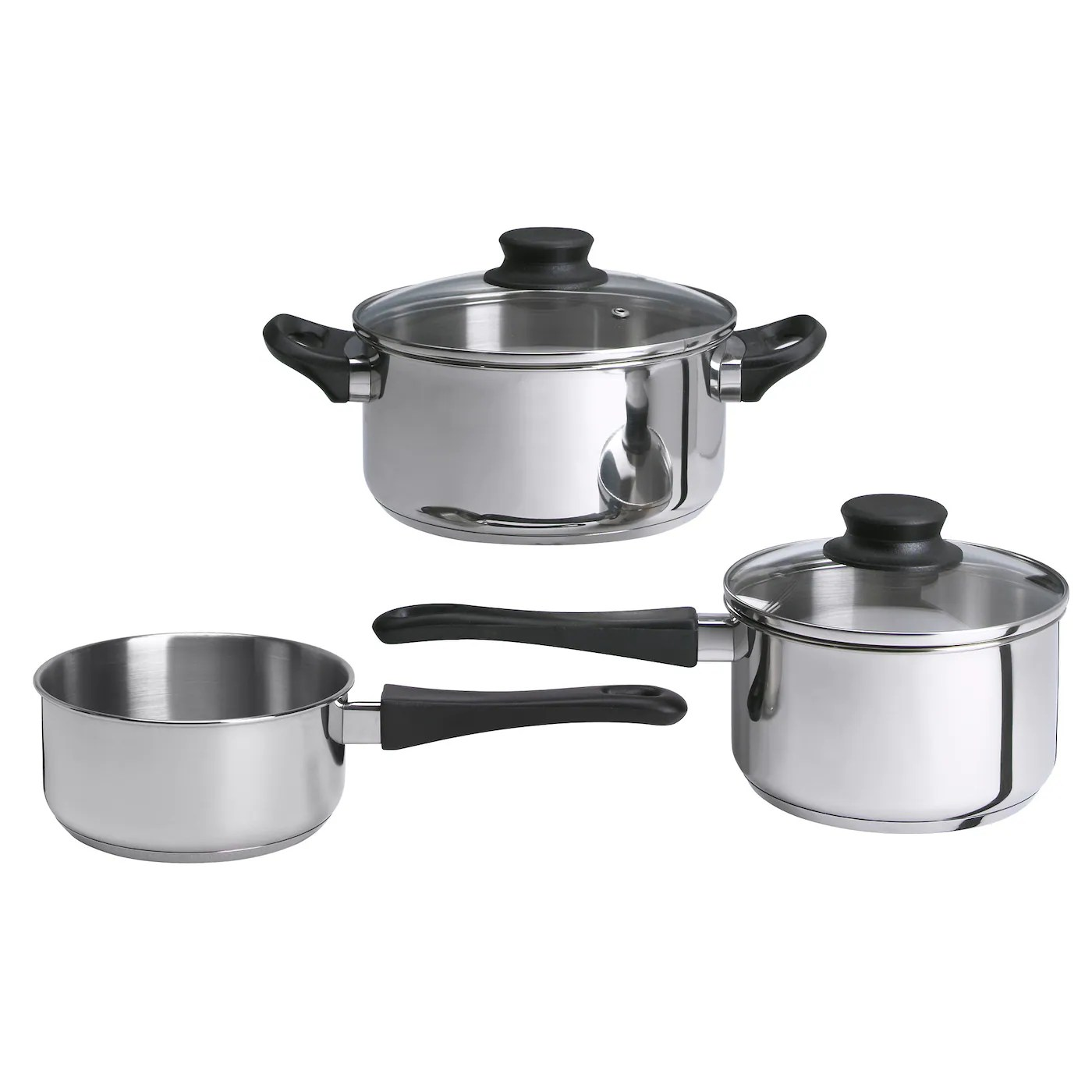 kitchen vessels set oil rubbed bronze sink pots and pans saucepans cooking from ikea ireland annons 5 piece cookware works well on all types of hobs including