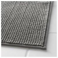 BADAREN Bath mat Grey 40x60 cm - IKEA