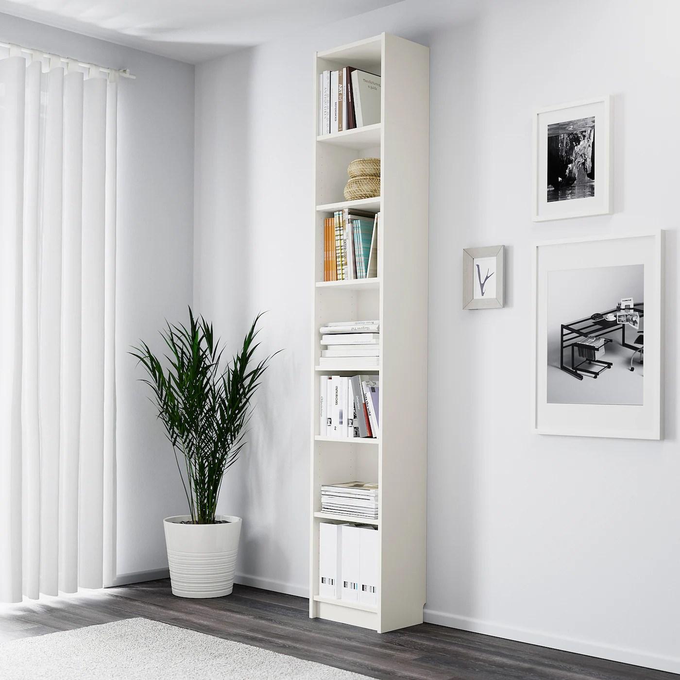 BILLY Bookcase, white, 40x28x237 cm   IKEA Ireland