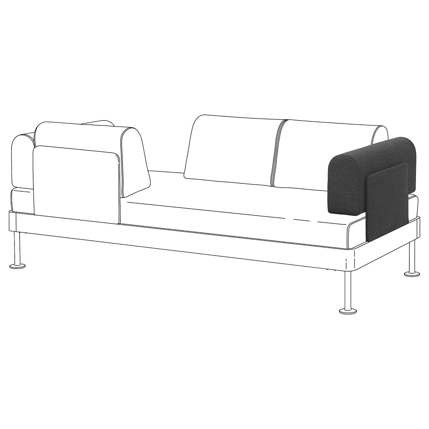 Delaktig Chaise Longue W Side Table And Lamp Tallmyra