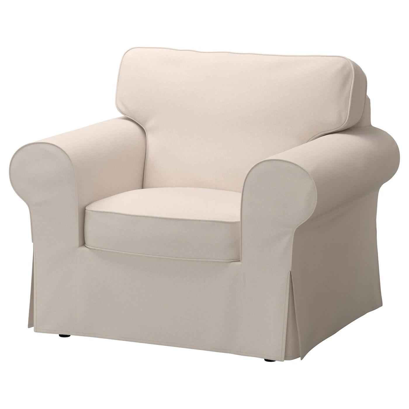 sofa chair covers ikea fisher price bouncy ektorp armchair lofallet beige