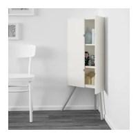 IKEA PS 2014 Corner cabinet White/grey 52x110 cm - IKEA
