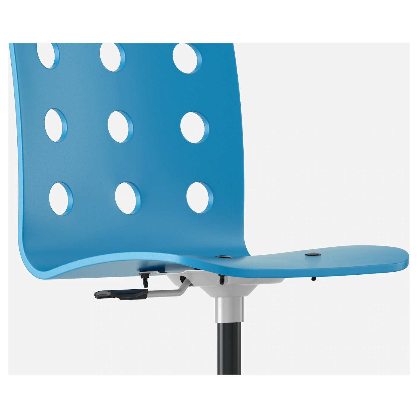 ikea jules chair italian dining chairs singapore children 39s desk blue silver colour