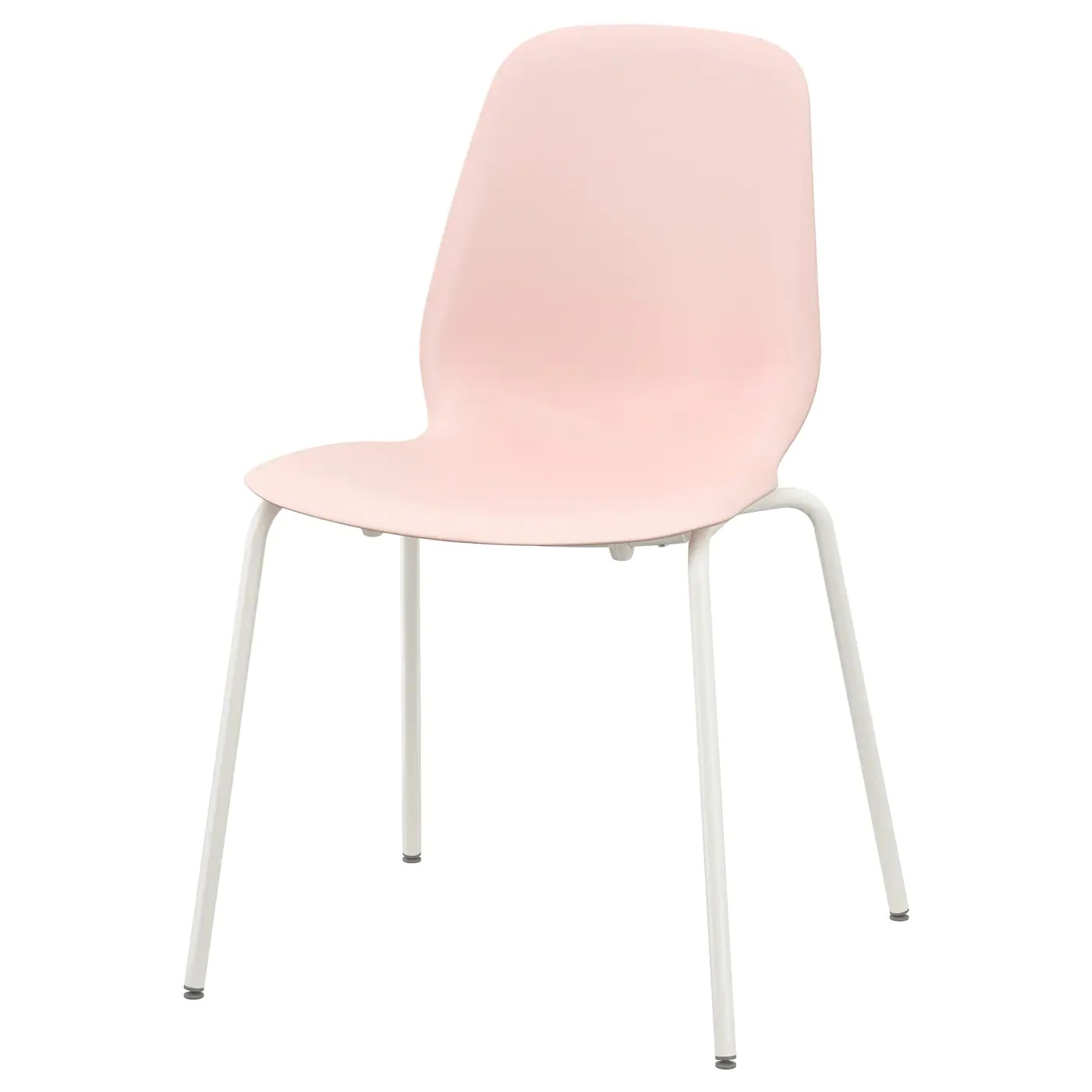 pale pink chair rocking gliders leifarne broringe white ikea