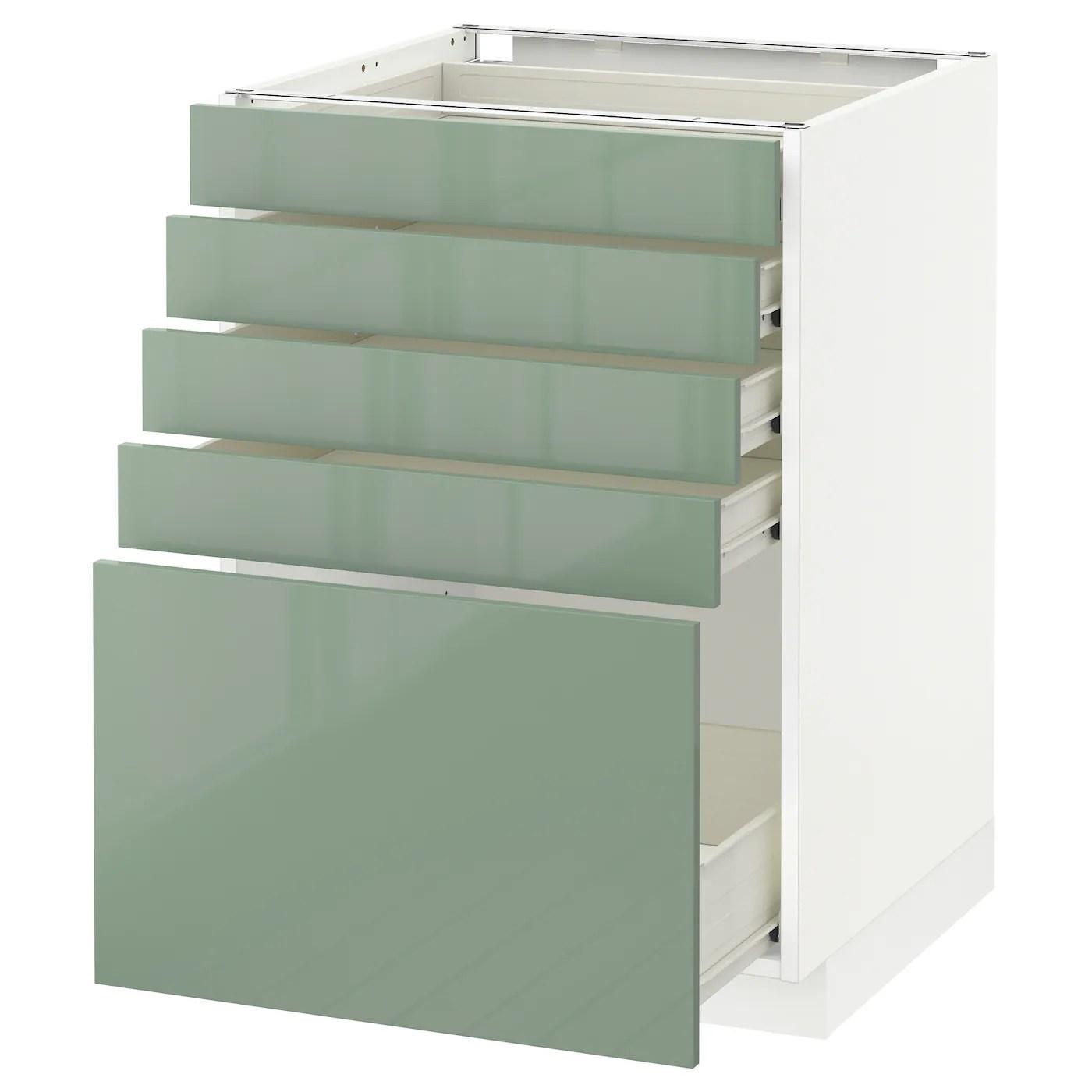 5 drawer kitchen base cabinet countertops options metod fÖrvara with drawers white kallarp