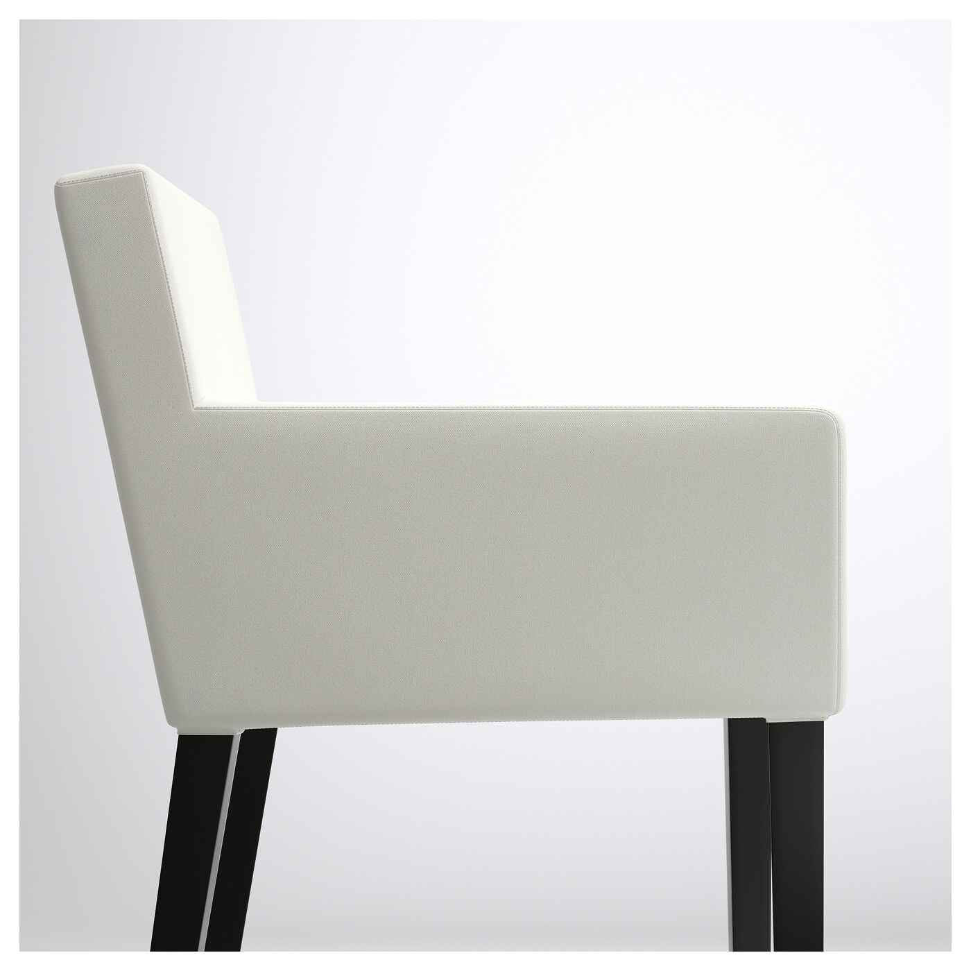 nils chair cover outdoor expressions zero gravity relaxer convertible lounge with armrests black blekinge white ikea
