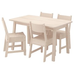 White Table Chairs Realspace Pro 15000 Series Big Tall High Back Chair NorrÅker And 4 Birch