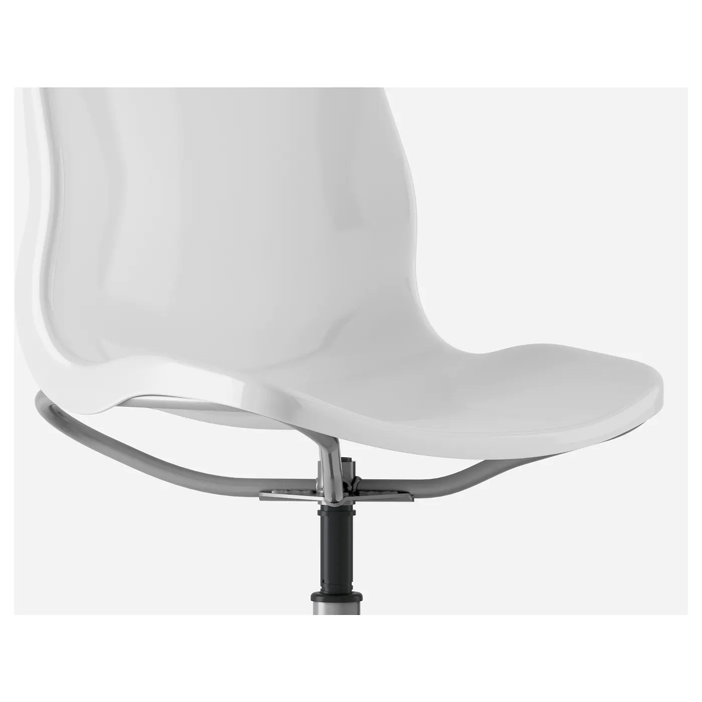 ikea office chair white high for baby snille swivel