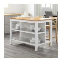 STENSTORP Kitchen island White/oak 126x79 cm - IKEA