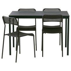 Black Chairs Target Bride And Groom Chair TÄrendÖ Adde Table 4 110 Cm Ikea