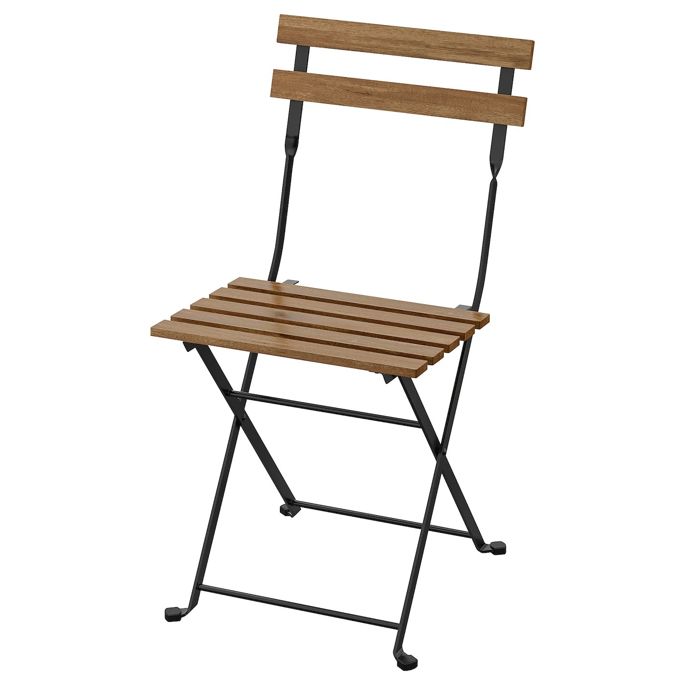 tarno chair outdoor foldable black light brown stained