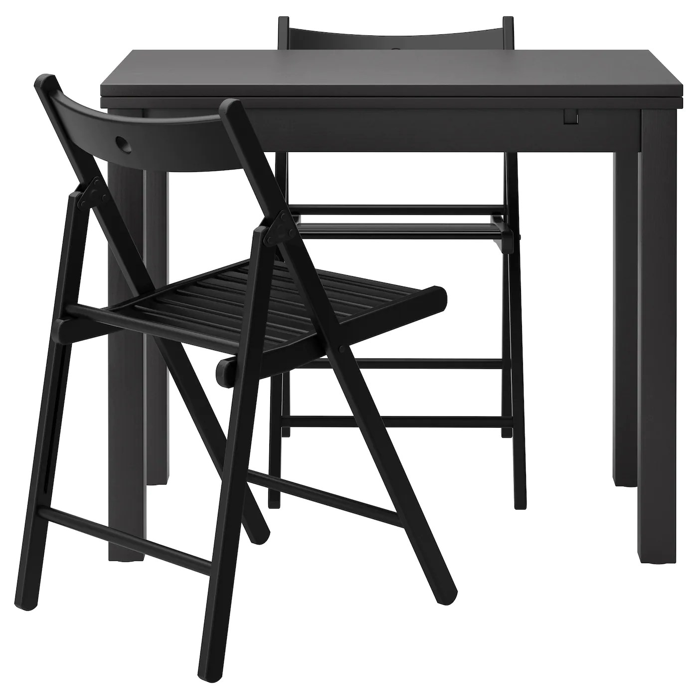 black table and chairs chair london design museum terje bjursta 2 brown 50 cm