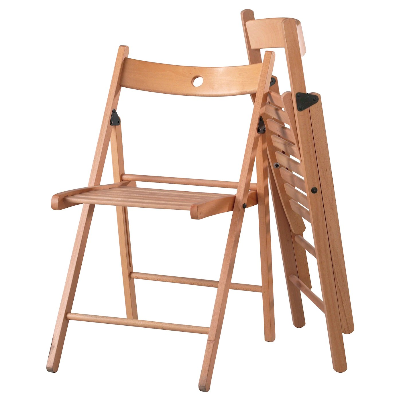 white folding chairs ikea student table and chair set terje beech