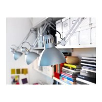 TERTIAL Work lamp Silver