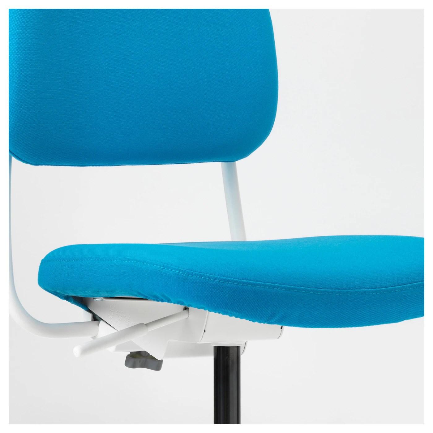 ikea pink desk chair portable reclining vimund children 39s vissle bright blue