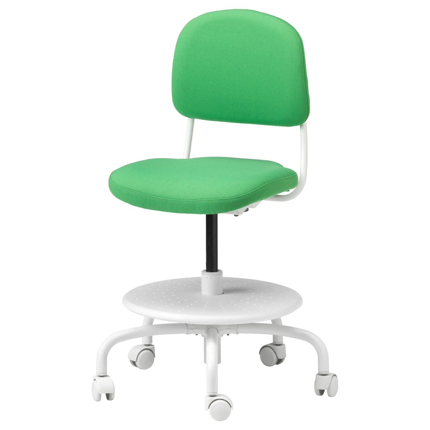 chairs for children green kitchen uk vimund 39s desk chair vissle bright ikea
