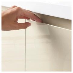 Ikea Kitchen Cabinet Handles Window Decoration Ideas Voxtorp Door High-gloss Light Beige 40 X 120 Cm -