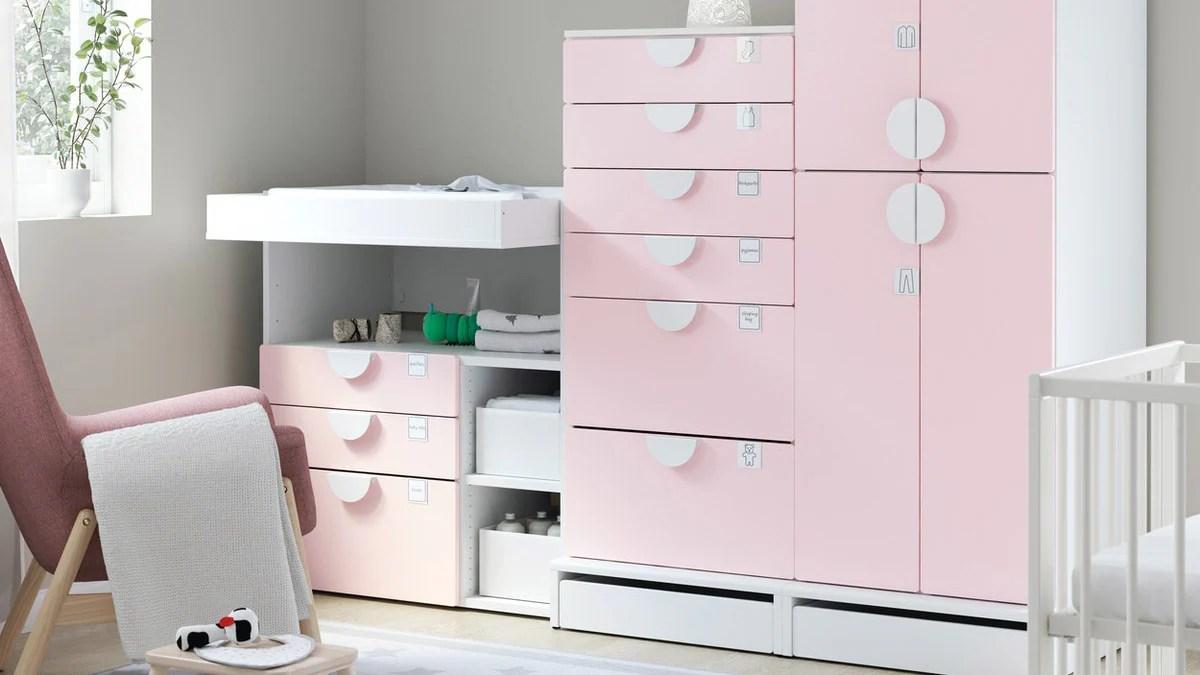 Serier Til Baby Og Bornevaerelset Sikre Og Praktiske Ikea