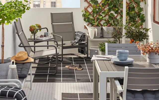 Inspiration For Small Outdoor Spaces Balcony Ideas Ikea Ireland