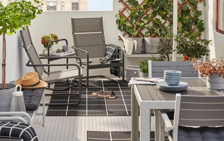 Inspiration For Small Outdoor Spaces Balcony Ideas Ikea Ireland
