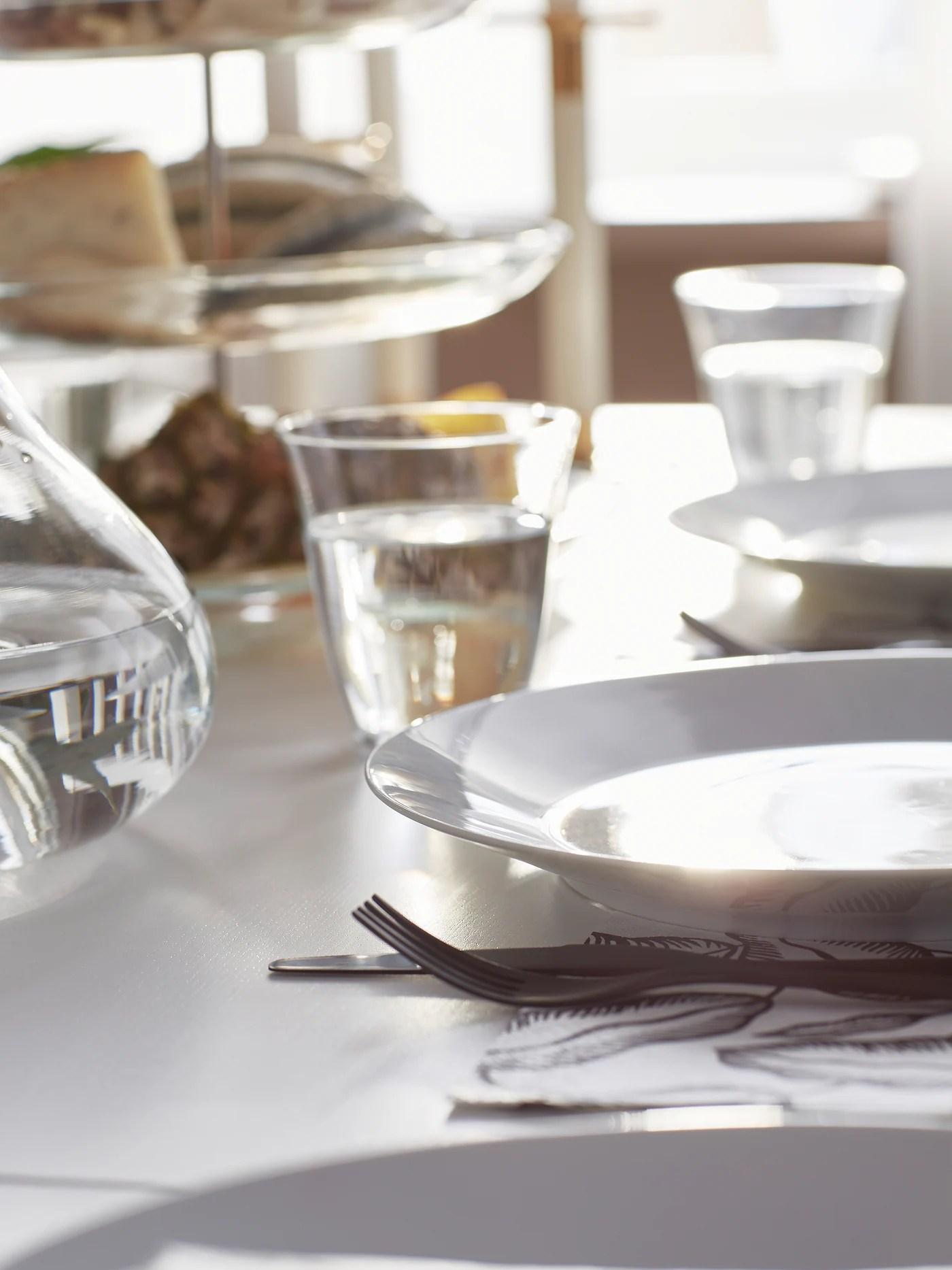 plates tableware dinnerware ikea