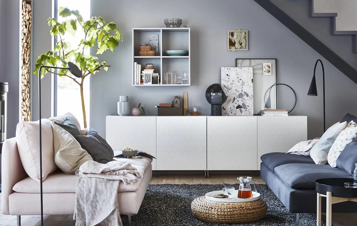Stylish Storage With The New Look Besta Ikea
