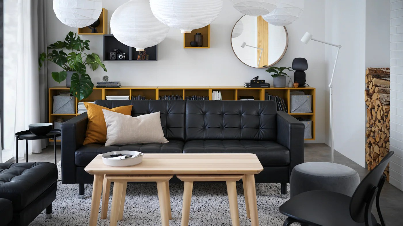 Living Room Furniture Easily Copes With Extra Guests Ikea