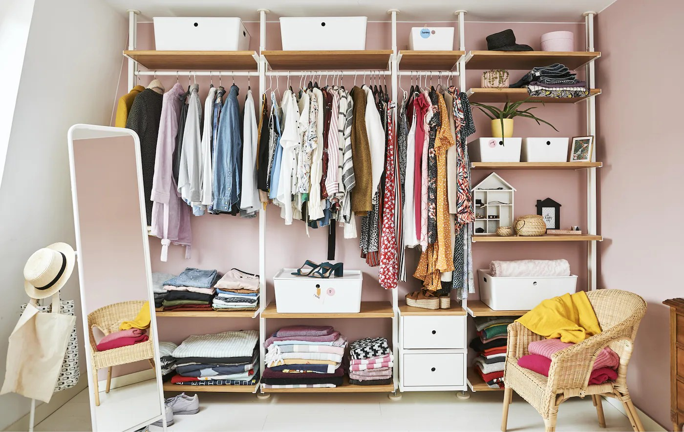 Design An Open Wardrobe To Perfectly Fit Your Needs Ikea