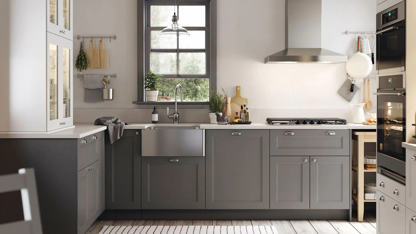 Axstad Grey Kitchen Ikea
