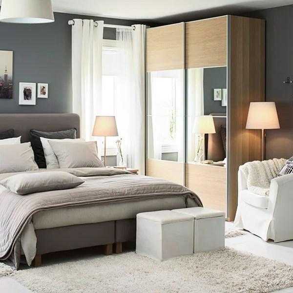 Il colore bianco ne accende l'eleganza, associandola ad una stanza total white, con piccoli dettagli colorati, come una perfetta camera da letto in stile. Lo Stile Della Camera Da Letto E Le Idee Per L Arredamento Di Ikea Ikea Svizzera