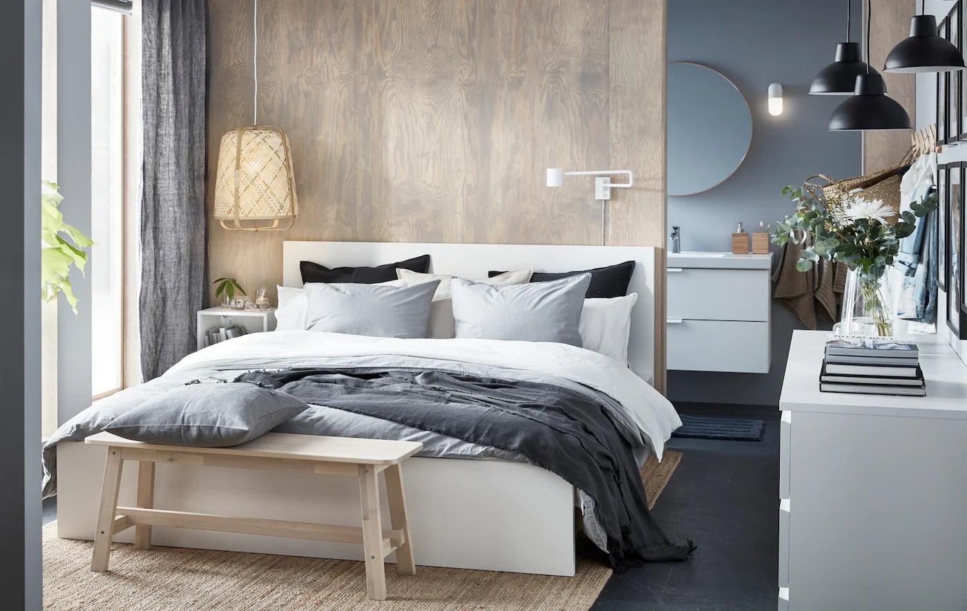 Trova {camera da letto ikea} in vendita tra una vasta selezione di su ebay. Elegante Minimalismo In Una Piccola Camera Da Letto Ikea It