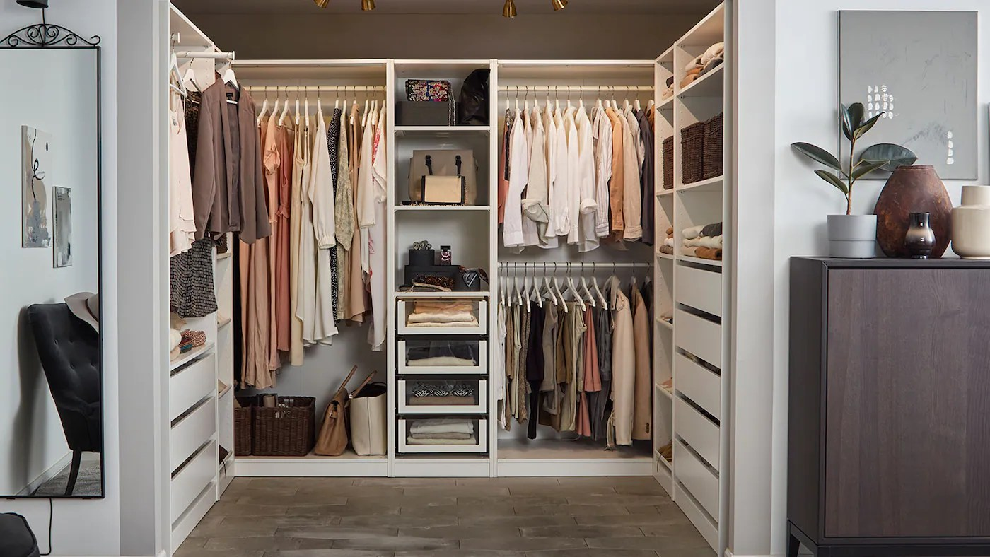 L'offre la plus large en belgique. Concevoir Son Dressing En 5 Etapes Ikea