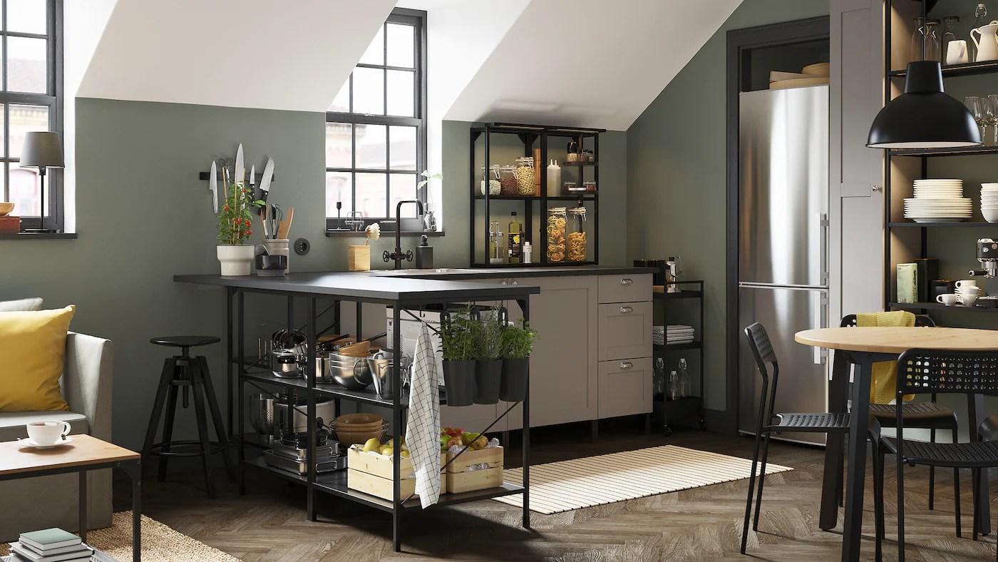 Con idoors puoi cambiare le ante della tua vecchia cucina ikea, scegliendo tra le nostre. Una Galleria Di Spunti Di Ispirazione Per La Cucina Ikea It