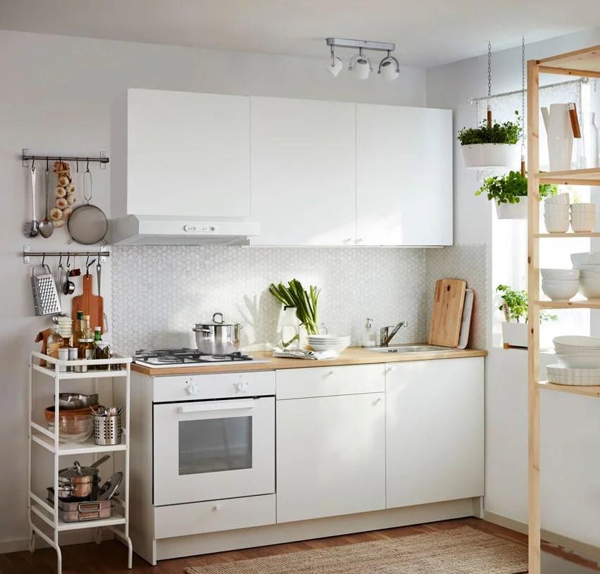 Una cucina completa in soli quattro metri quadri  IKEA
