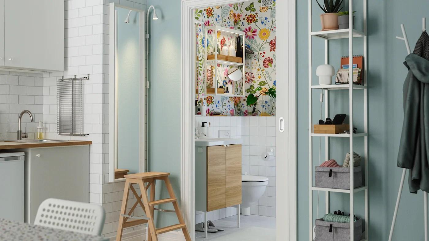 Prendi le misure e crea un ambiente funzionale e ben organizzato. Una Galleria Di Ispirazioni Per Il Bagno Ikea It