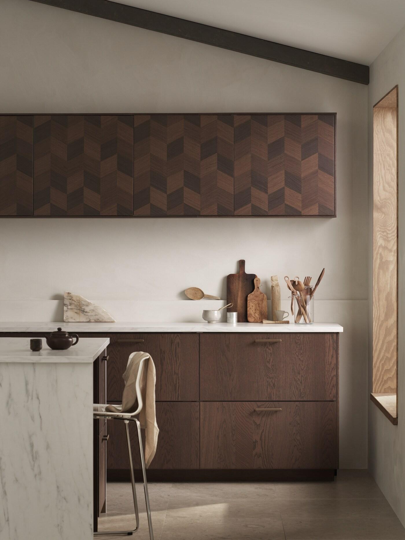 A differenza di una carta da parati vinilica, adatta al rivestimento di ambienti umidi e ricchi di condensa come le cucine e i bagni, i pannelli. Guida Alle Cucine Sinarp Hasslarp Ikea It