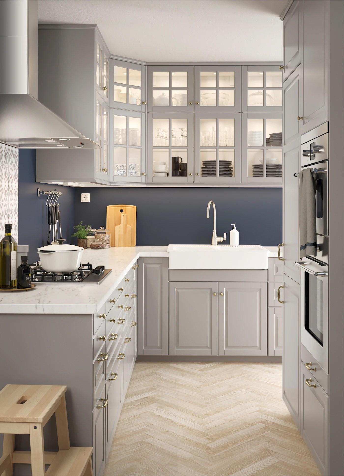 Cucina A L In Stile Tradizionale Idee Cucina Ikea